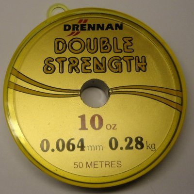 Fiskelina Drennan Double Strength 0,064 mm