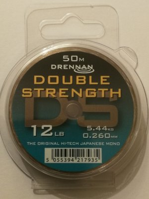 Fiskelina Drennan Double Strength 0,26 mm